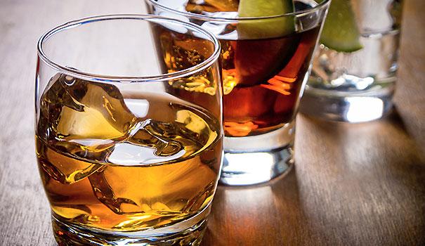 Dipendenza di alcolizzato di glycine